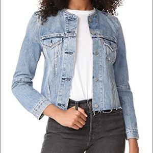 Levi Cut-Off Trucker Denim Jacket